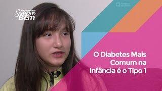 O Diabetes Mais Comum na Infância é o Tipo 1
