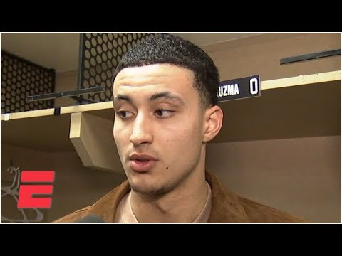 Video: Kyle Kuzma on staying off of social media: 'Maybe I should just Bird Box it' | NBA on ESPN