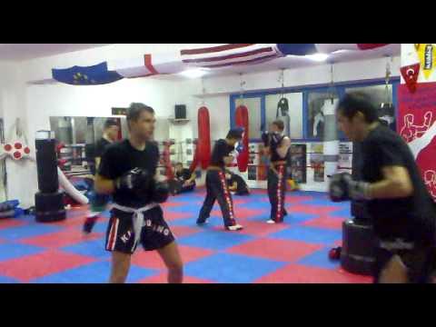 Combattimento palestra Dimitri e Daniele