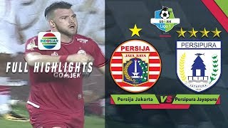 Download Video Persija Jakarta (2) vs Persipura Jayapura (0) - Full Highlight | Gojek Liga 1 bersama Bukalapak MP3 3GP MP4