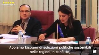 #NoAlleVostreGuerre Storico discorso al Consiglio d'Europa