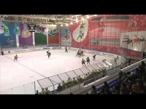 Обзор первого матча 1/4 финала ЧРК 'Бейбарыс' - 'Беркут' (5:3)