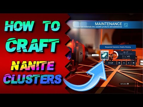 How to Craft Nanite Clusters in No Man's Sky - 100% Legit [ NMSN Tips and Tricks ]