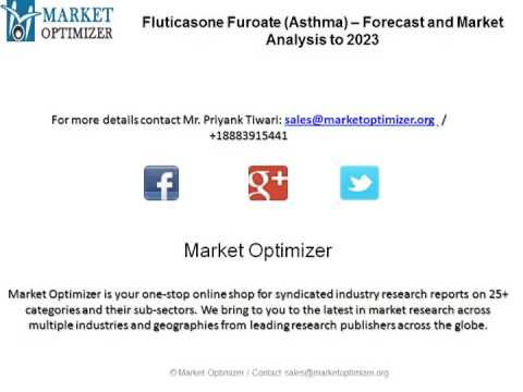 Fluticasone Furoate Asthma –Drug Forecast and Market Analysis to 2023