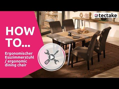 Esszimmerstühle Montage | tectake