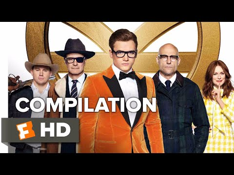 Kingsman: The Golden Circle ALL Trailers + Clips (2017) | Movieclips Trailers