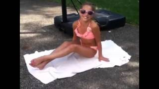 Mackenzie Ziegler Does The Ice Bucket Challenge !