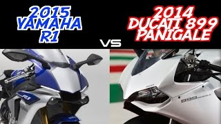 7. 2015 R1 vs 2014 899 Panigale - Buttonwillow Raceway