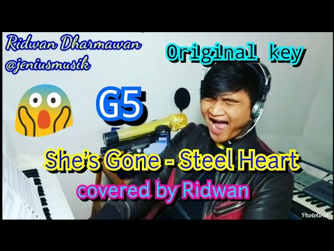 She's Gone - Steel Heart covered by Ridwan accoustic piano version G5
