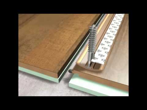 Poradnik-montaż listwy przejściowej dylatacyjnej Myck