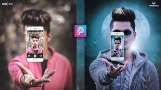 PicsArt 3D Fly Mobile Photo Editing tutorial in picsart Step by Step in Hindi - Viral photo editing