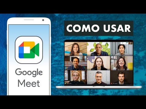 CÓMO USAR GOOGLE MEET En el Celular y la PC 👍🏼| Cómo Funciona para Clases y Videollamadas