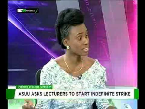 Sharon Ijasan gives updates on ASUU Nationwide Strike