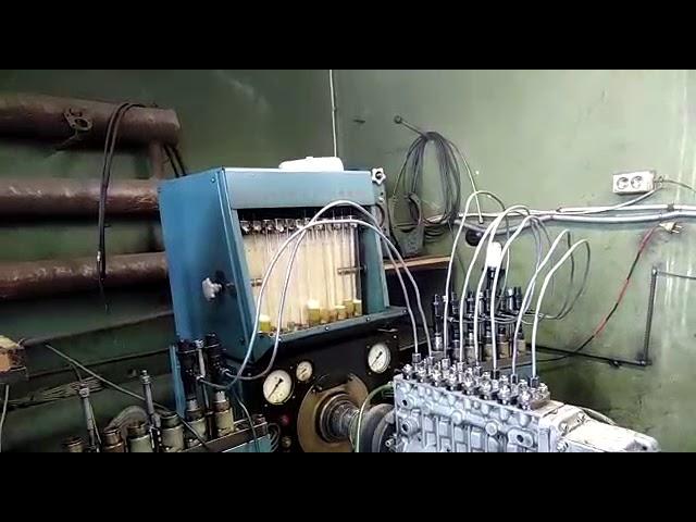 Регулировка ТНВД топливного насоса высокого давления