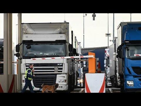 Frankreich/Großbritannien: Brexit-Generalprobe am Eur ...