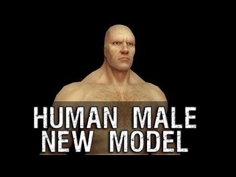 character - Human Male Character New Model Preview - Warlords of Draenor.