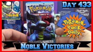 Pokemon Pack Daily Noble Victories Booster Opening Day 433 - Featuring The Pokemon Evolutionaries by ThePokeCapital
