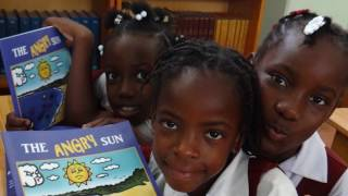 The Angry Sun - Book launch in Chateaubelair
