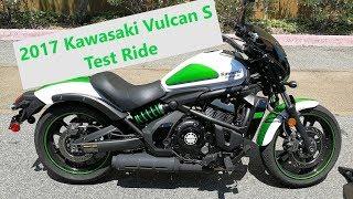 3. 2017 Kawasaki Vulcan S Test Ride