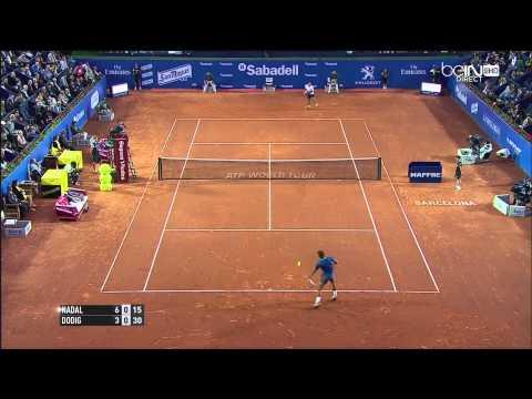 Rafa Nadal y Nicolas Almagro, duelo estrella en el Godó