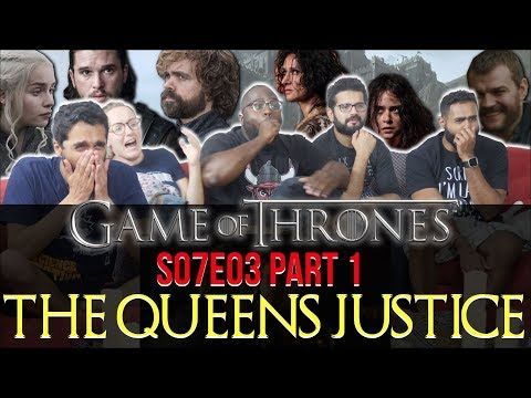 Game Of Thrones - 7x3 The Queen's Justice  [Part 1] - Group Reaction + Skit