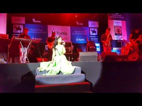 Shibani Kashyap Jeena Jeena Kala Ghoda Festival 2016
