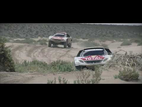 IN THE EYES OF Team Peugeot Total - Dakar 2017
