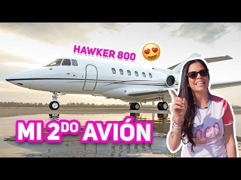 TE MUESTRO MI SEGUNDO AVIÓN PRIVADO   Hawker 800 Jet Tour! El Mundo de Camila Guiribitey