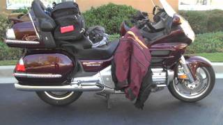 6. Honda Goldwing (GL-1800) 2006 Motorcycle Pre-ride Overview