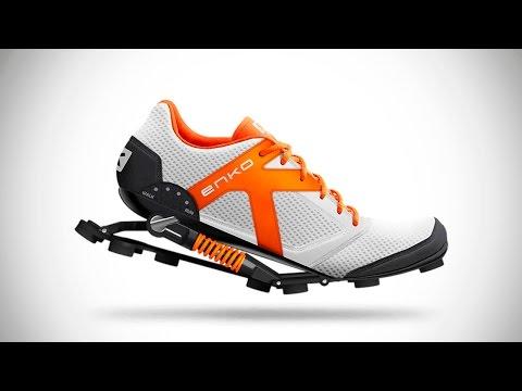 10 ГЕНИАЛЬНЫХ изобретений, обувь и кроссовки будущего для ходьбы, спорта, фитнеса   Новые технологии (видео)