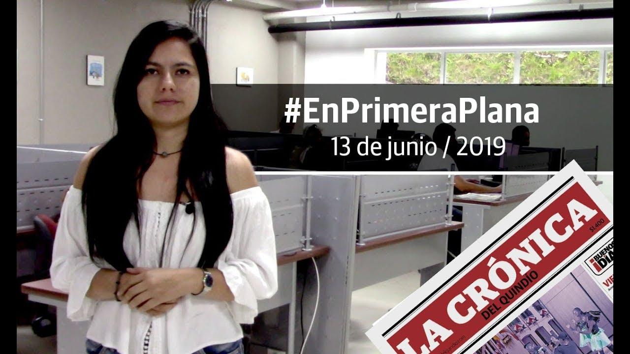 En Primera Plana: lo que será noticia este viernes 14 de junio