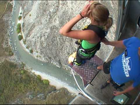 bungee jumping di 134 metri!