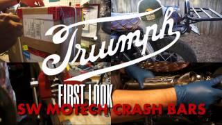 7. First look at SW Motech engine crash bars for Triumph Bonneville & Thruxton