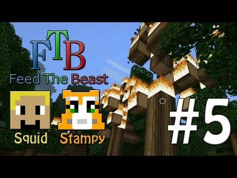 Feed The Beast #5 – SIR LONG-ING-TON!! – W/Stampylongnose
