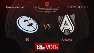 Alliance vs Evil Geniuses, game 1