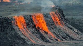 Lava Lake At The Nyiragongo Volcano HD 2015 HD