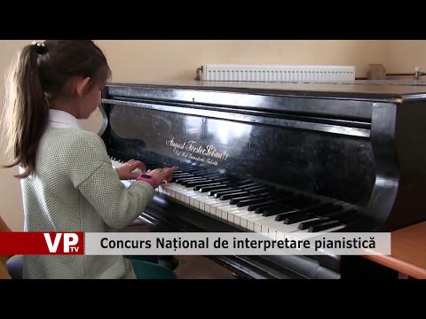 Concurs Național de interpretare pianistică