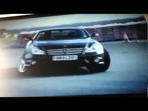 Mercedes cls 55 top gear снимок