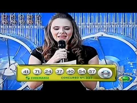 Sorteio da Mega Sena em Guanambi-01/08/2012
