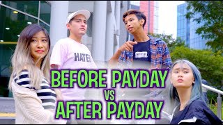 Video BEFORE PAYDAY VS AFTER PAYDAY MP3, 3GP, MP4, WEBM, AVI, FLV Desember 2018