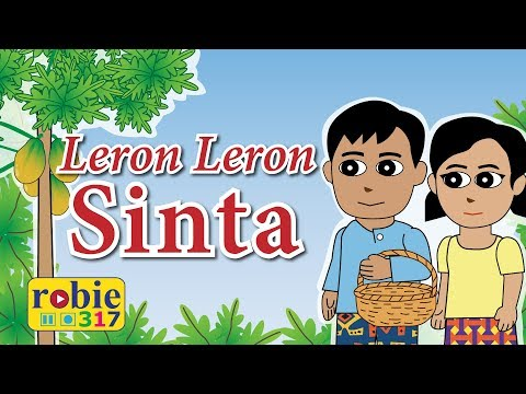 Leron Leron Sinta Animated 2018 (Awiting Pambata) | Tagalog Folk Song (видео)