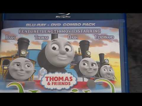 Thomas And Friends Home Media Reviews Episode 71.1 - Misty Island Rescue On Blu Ray