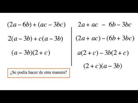 Vídeos Educativos.,Vídeos:Factorización por agrupación