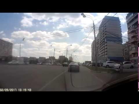Авария в Краснодаре с 2.20