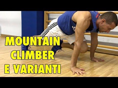 ✅ MOUNTAIN CLIMBER E VARIANTI IMPEGNATIVE (видео)