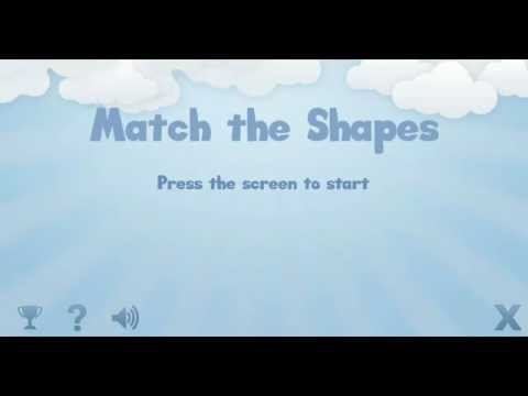 Video of Match the shapes