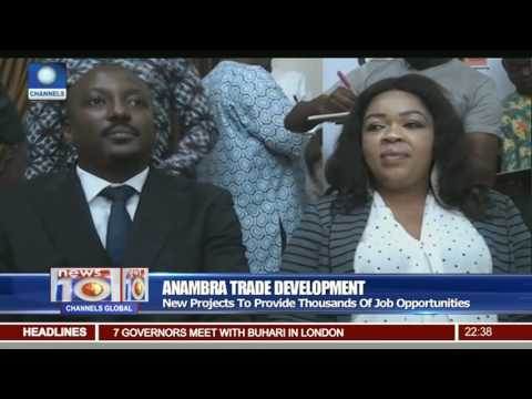 Anambra Trade Development: Gov Obiano Signs Two MoUs To Develop Markets (видео)