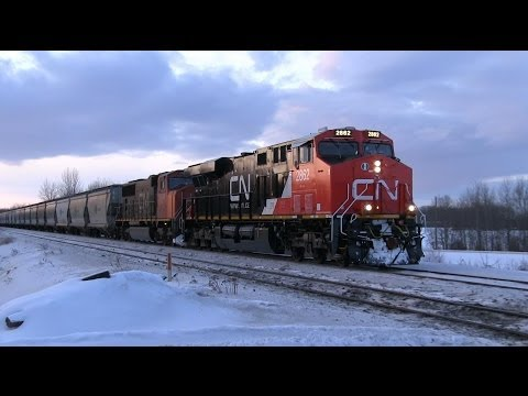 ES44AC - Please watch in 1080p for best quality. Train ID: 758 Power: CN ES44AC 2862 SD75I 5643 ES44DC 2256 [DPU] Location: Carvel, AB Milepost: 32.14 Subdivision: Ed...