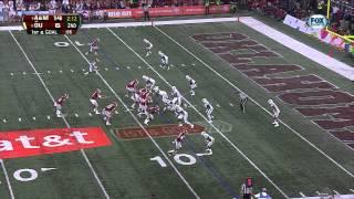Damontre Moore vs Oklahoma (2012 Bowl)