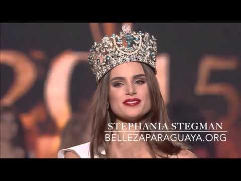 Stephania  Stegman es Miss Supranational 2015